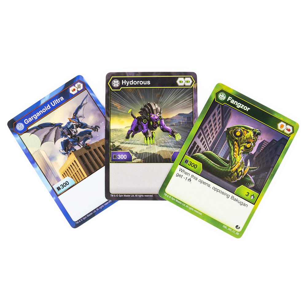 Bakugan - Ensemble de cartes de départ assorties