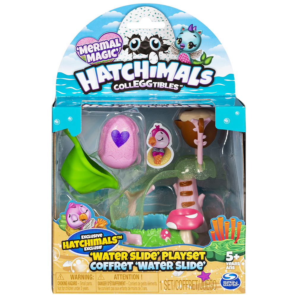 Hatchimals - Ensemble Mini Glissade d'eau
