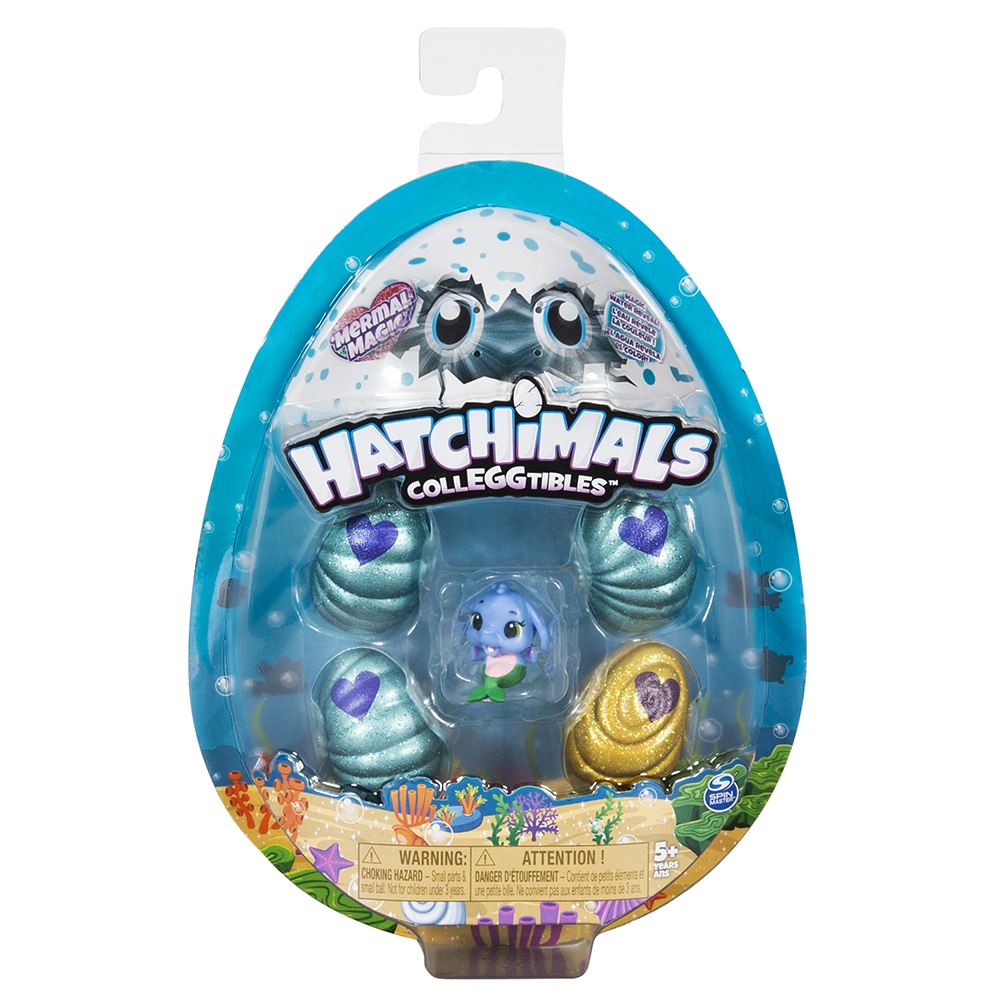 Hatchimals CollEGGtibles Ensemble de 4 et bonus saison 5 assortis