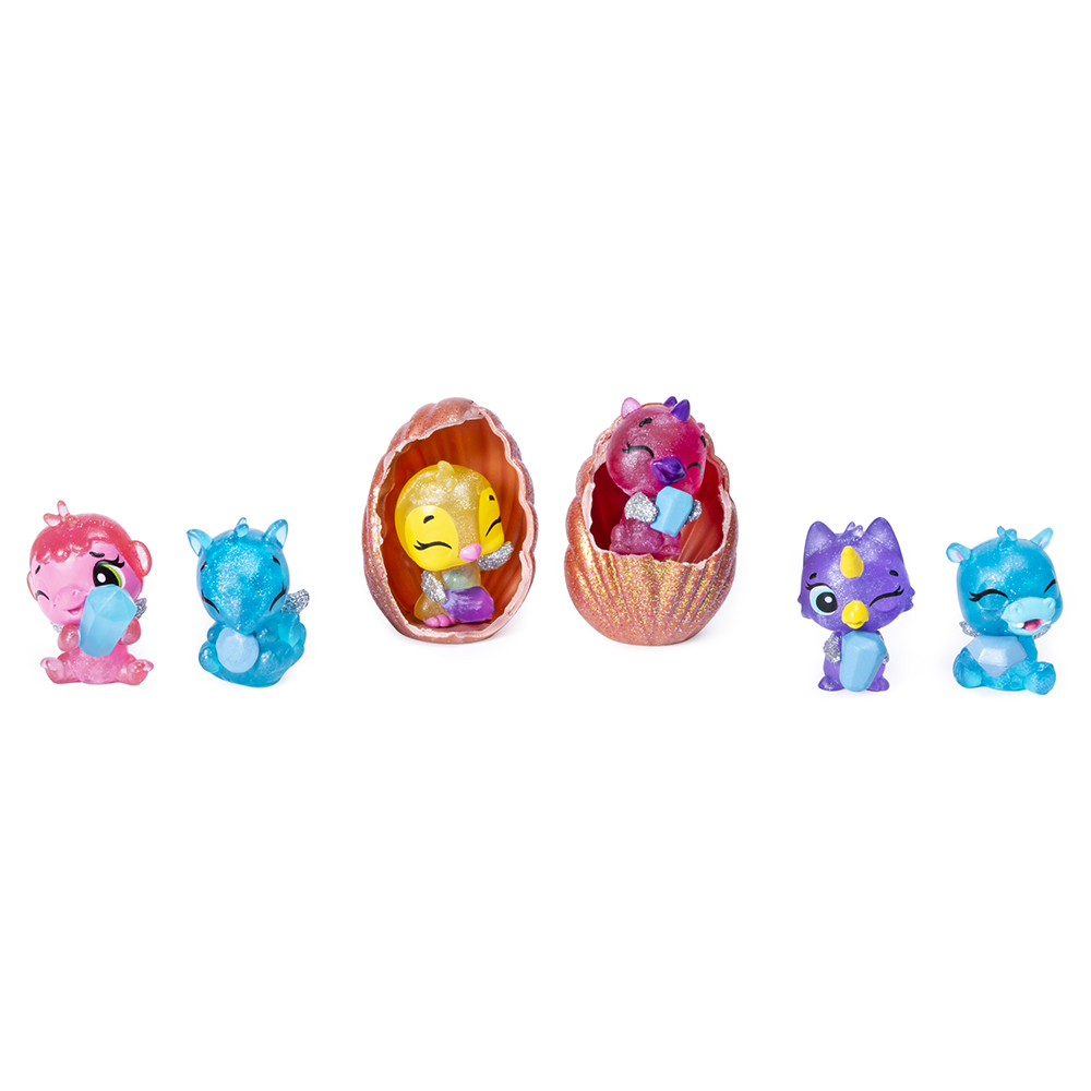 Hatchimals - ColleEGGtible Ensemble de 6 Sea Shell