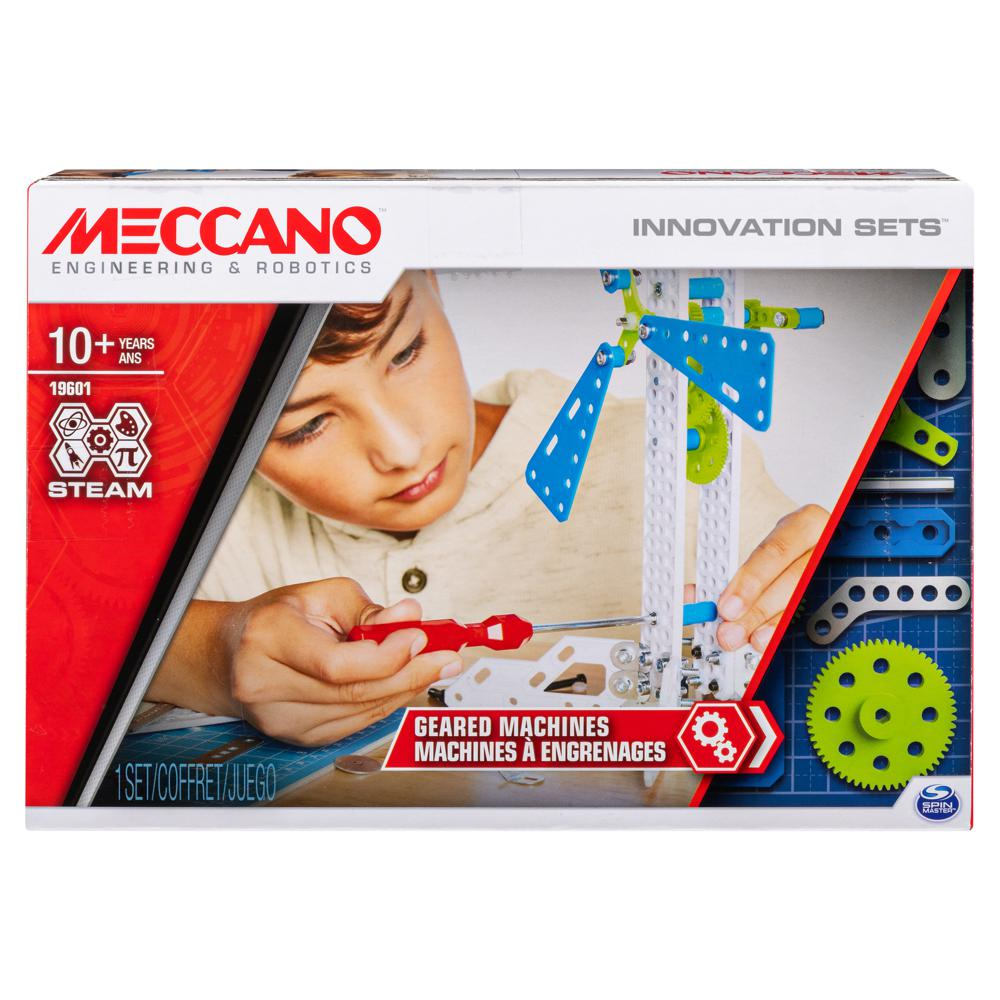 Meccano - Machine à engrenages 3 modèles