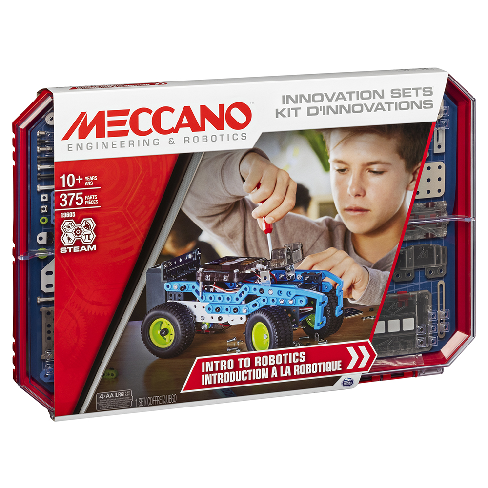 Meccano - Coffret introduction à la robotique 8 modèles