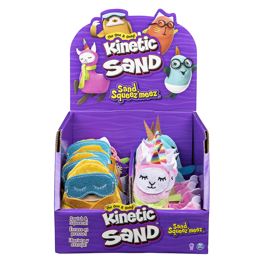 Kinetic Sand- Squishies assortis