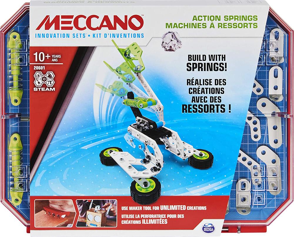 Meccano - Set 4 Motorized Marvels