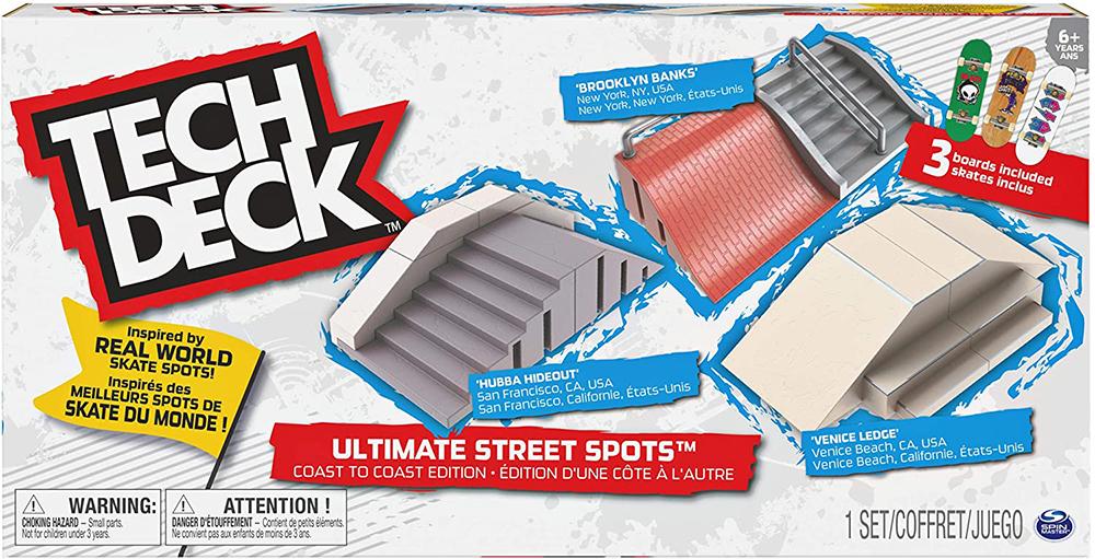 Tech Deck- Ultimate Street Spots pack