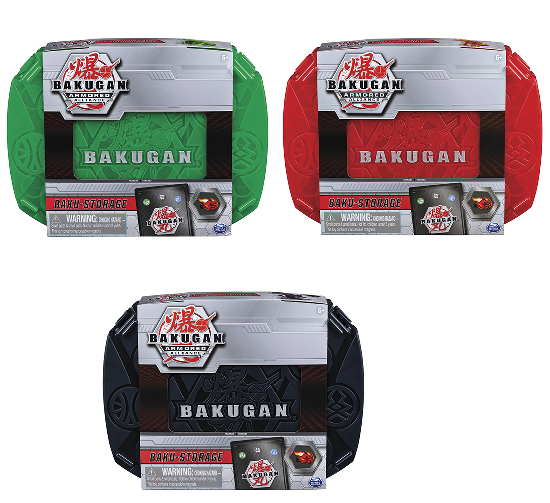 Bakugan - Boite de rangement Baku-Storage Série 2 assorties