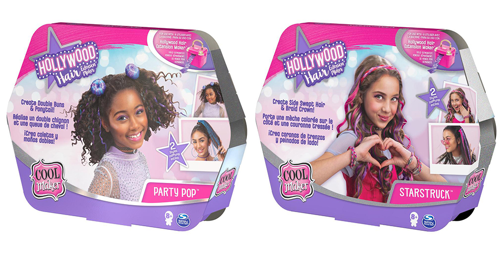 Cool Maker- Hollywood Hair Styling pack assortis