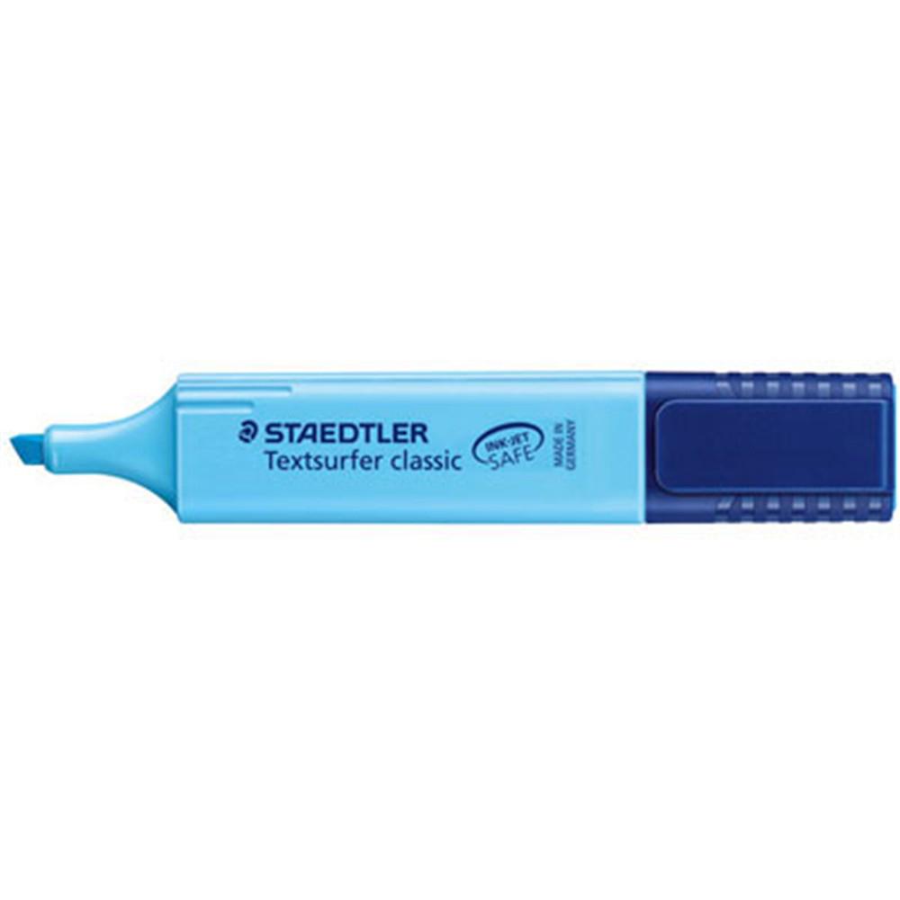 Surligneur bleu
