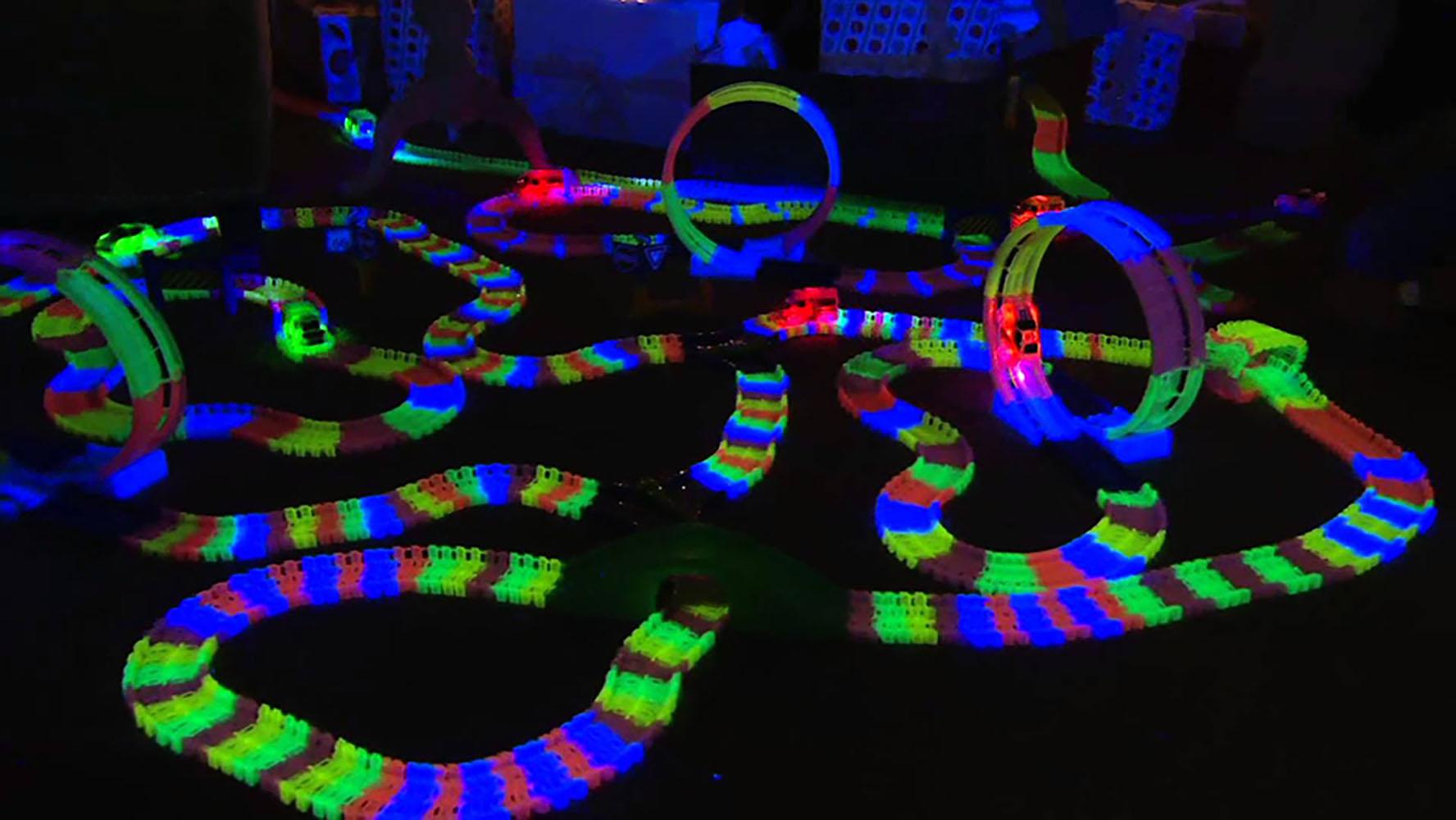 Neon track Piste phosphorescente