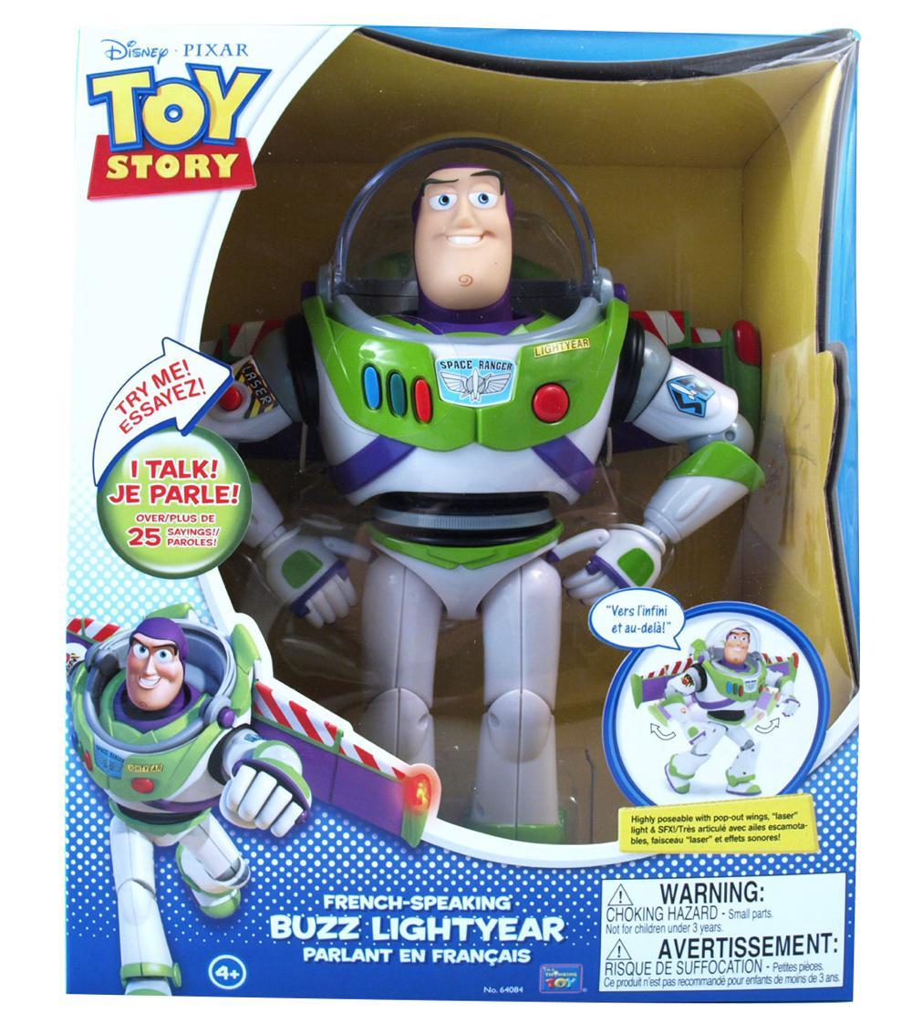 Figurine Buzz parlant français