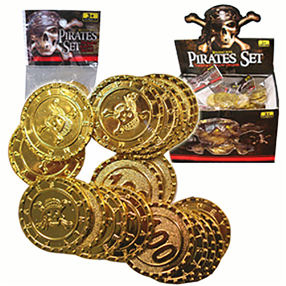 Pièces d'or de pirate