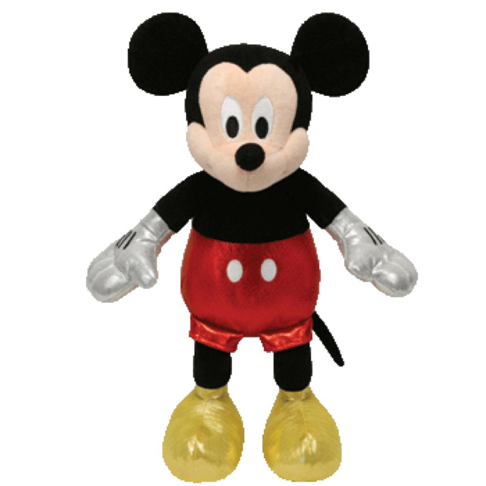 Peluche Beanie Babies - Mickey Mouse Petit