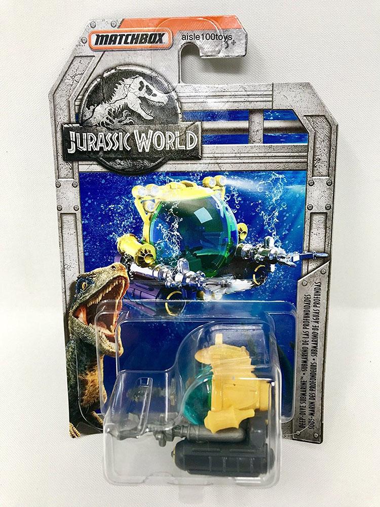 Matchbox Jurrasic World Voiture de collection assorties