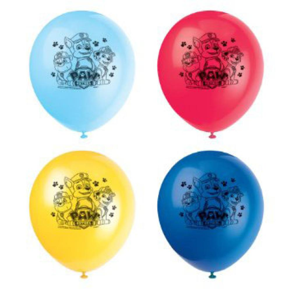 Pat Patrouille - Ballons 12'' imprimés