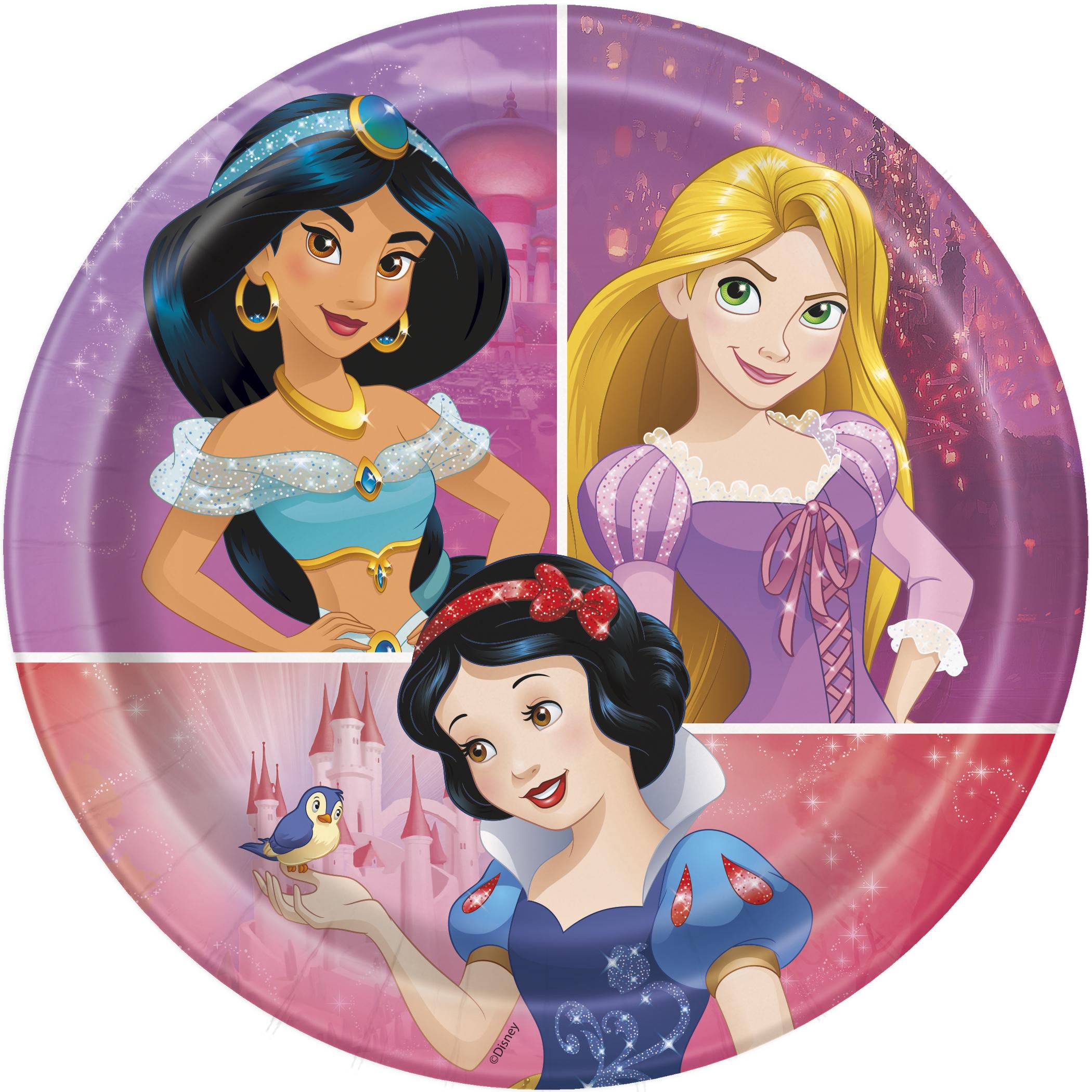 Princesses - Petites assiettes