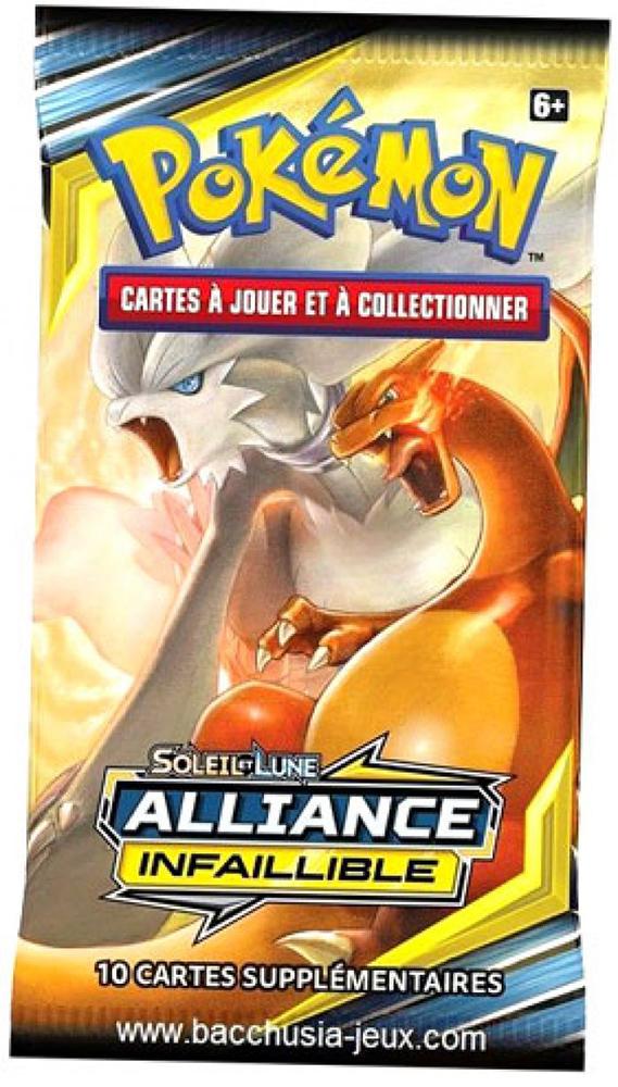 Cartes Pokémon - Booster - Soleil&Lune Alliance infaillible