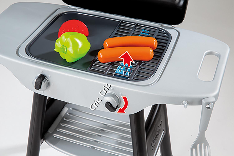 Smoby Barbecue Plancha avec 16 accessoires