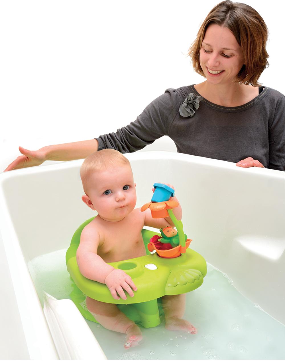 Cotoons - Siège de bain vert