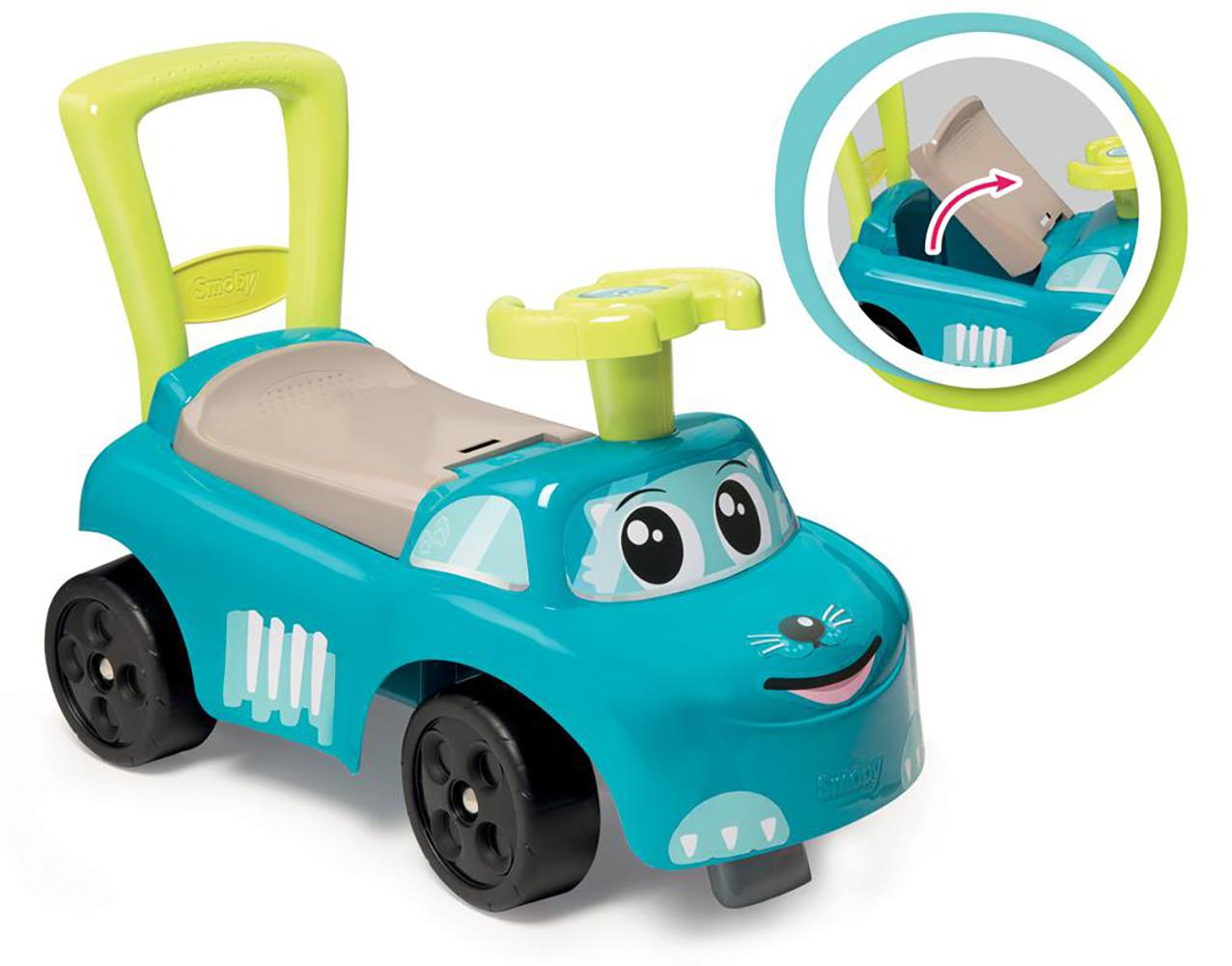 Smoby - Porteur 2-en-1 Bleu