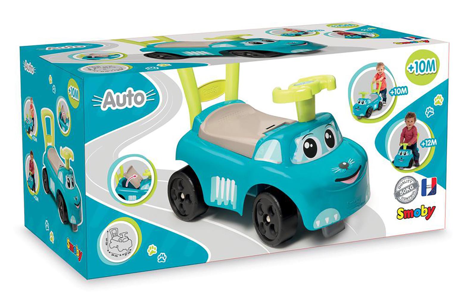 Smoby Porteur 2-en-1 bleu