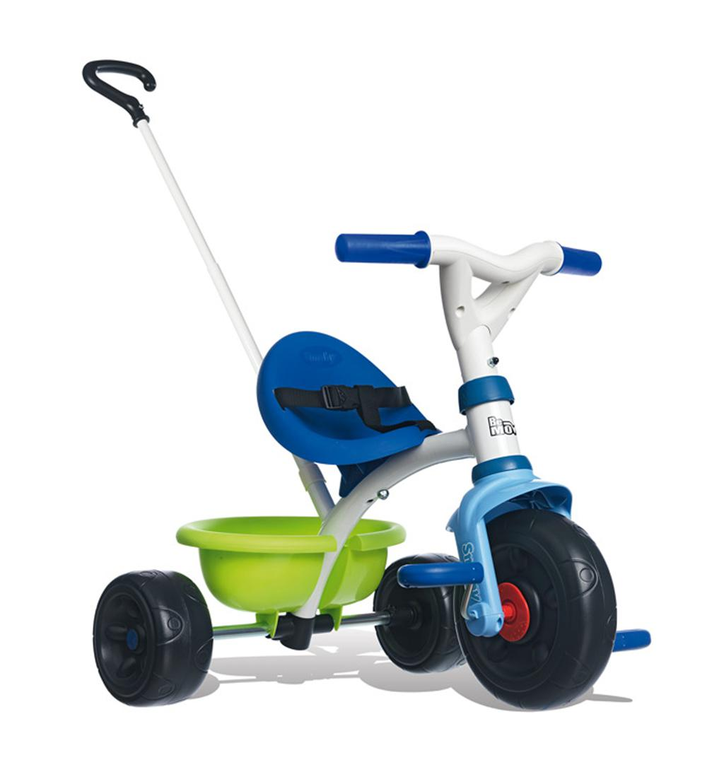 Smoby-Tricycle Be Move Bleu