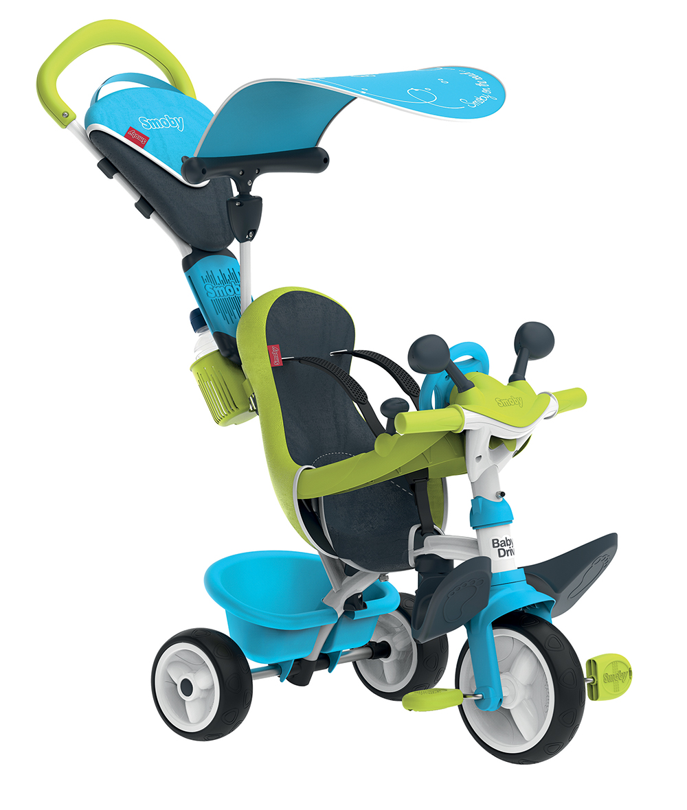 Smoby Tricycle Baby Driver Bleu