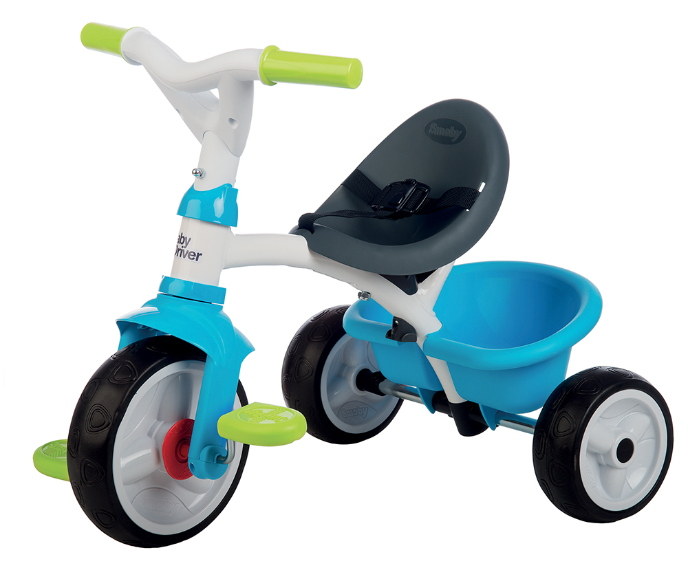 Smoby - Tricycle Baby Driver Bleu