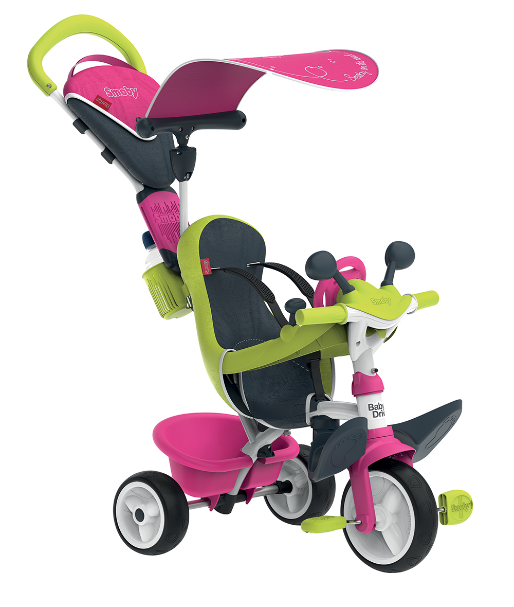 Smoby Tricycle Baby Driver rose