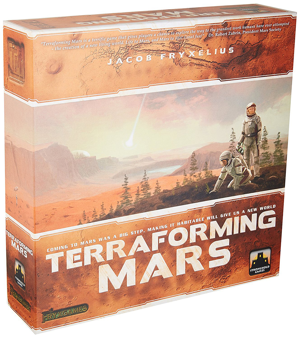 Jeu Terraforming Mars