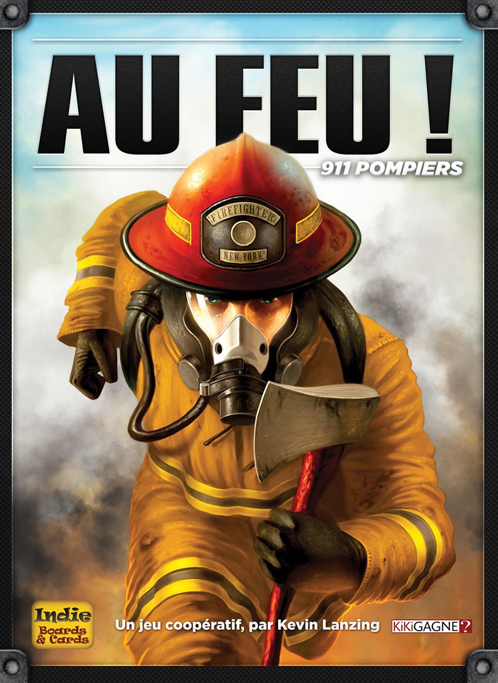 Jeu Au feu! 911 pompiers