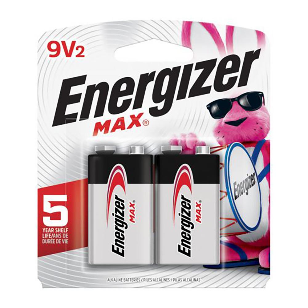 Piles Energizer 9 Volts 2x