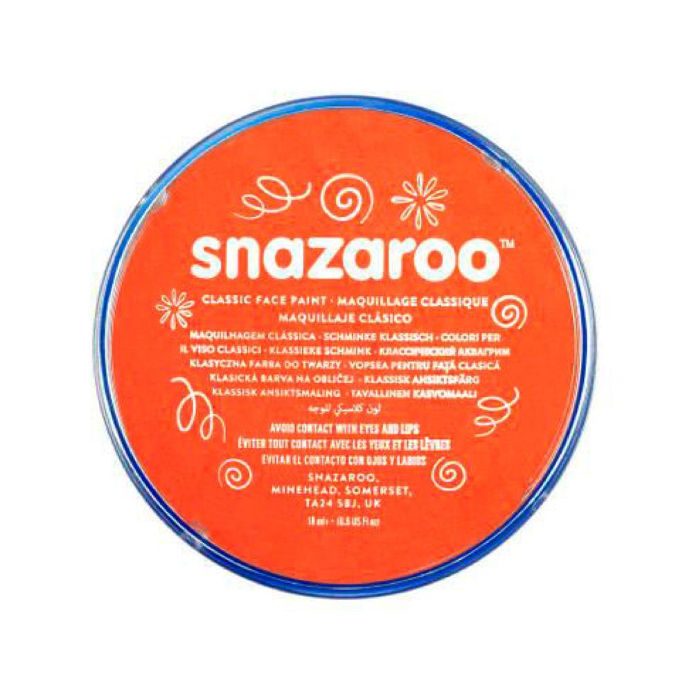 Snazaroo maquillage en pastille 18 ml orange