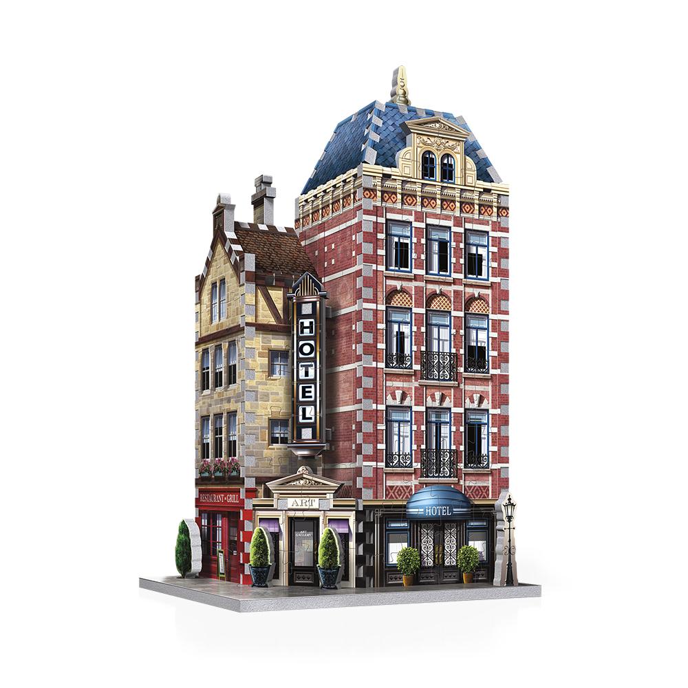 Wrebbit Casse-tête 3D Urbania Hôtel 295 Pièces