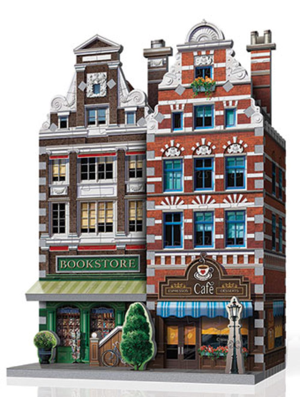 Wrebbit Casse-tête 3D Urbania Café 285 Pièces