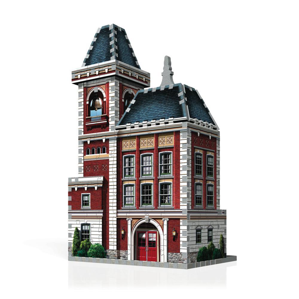 Wrebbit Casse-tête 3D Urbania Caserne 285 Pièces