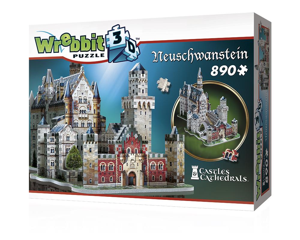 Wrebbit Casse-tête 3D Neushwantein 890 Pièces