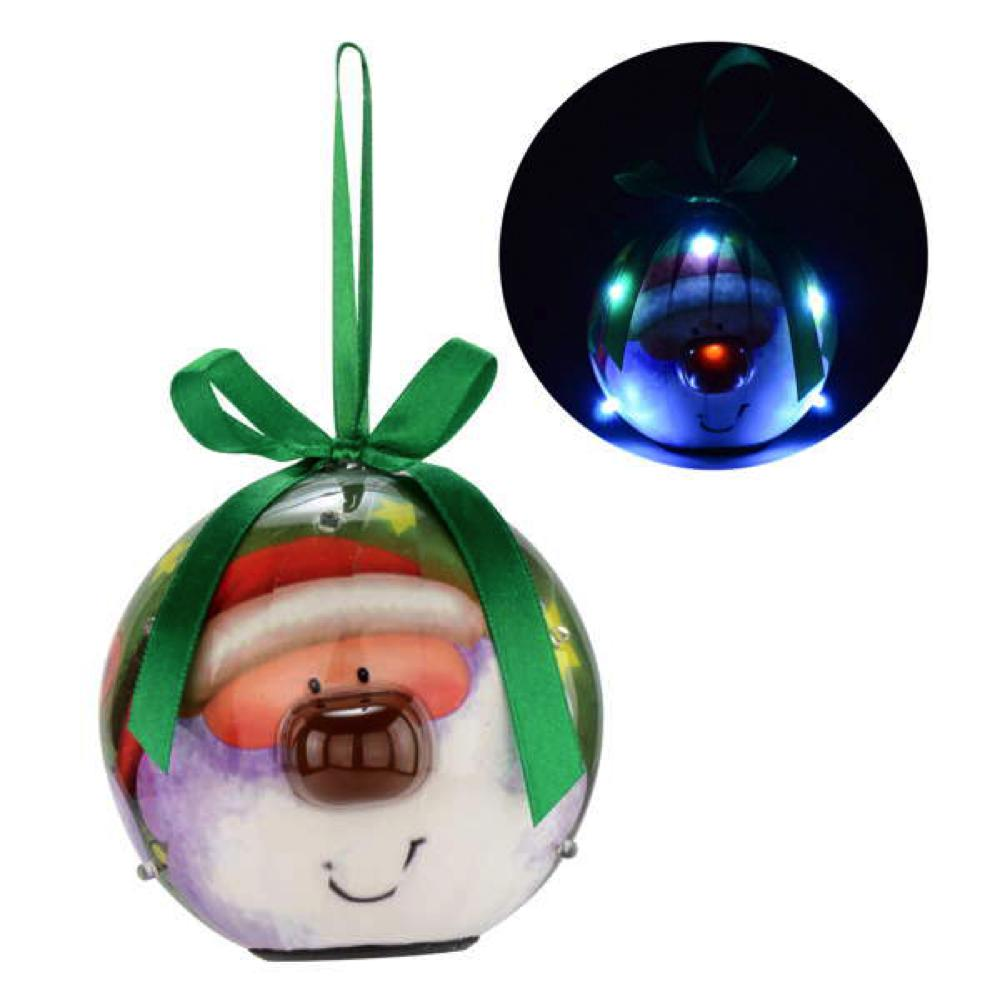 Boule illumée Père-Noël