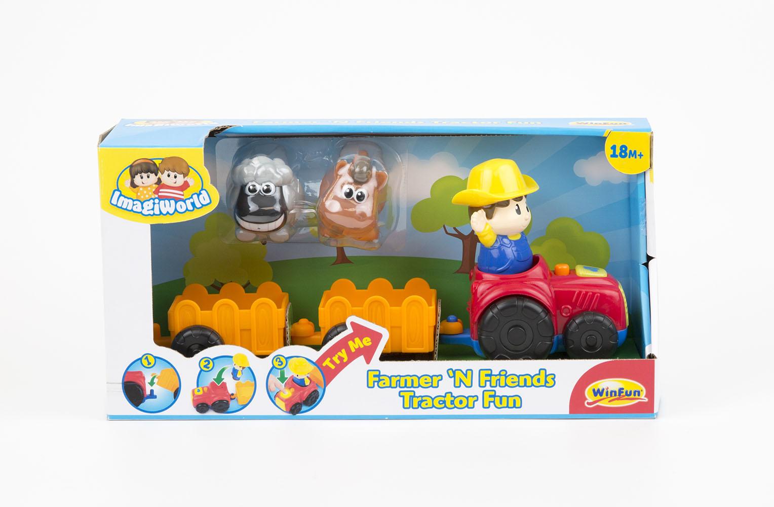 Winfun Tracteur amusant