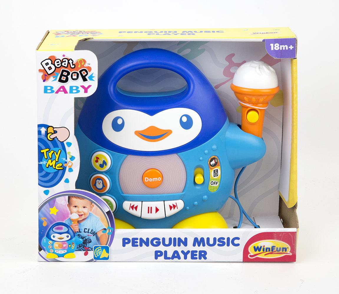 Winfun - Mon lecteur de musique Pingouin