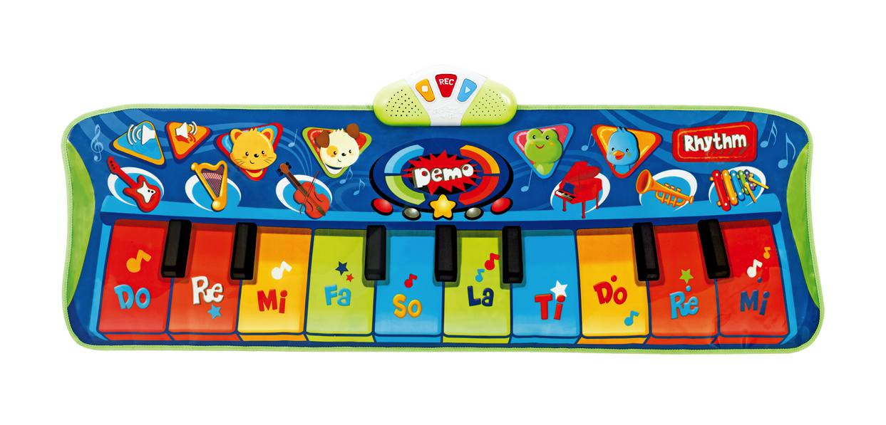 Winfun - Tapis piano junior géant