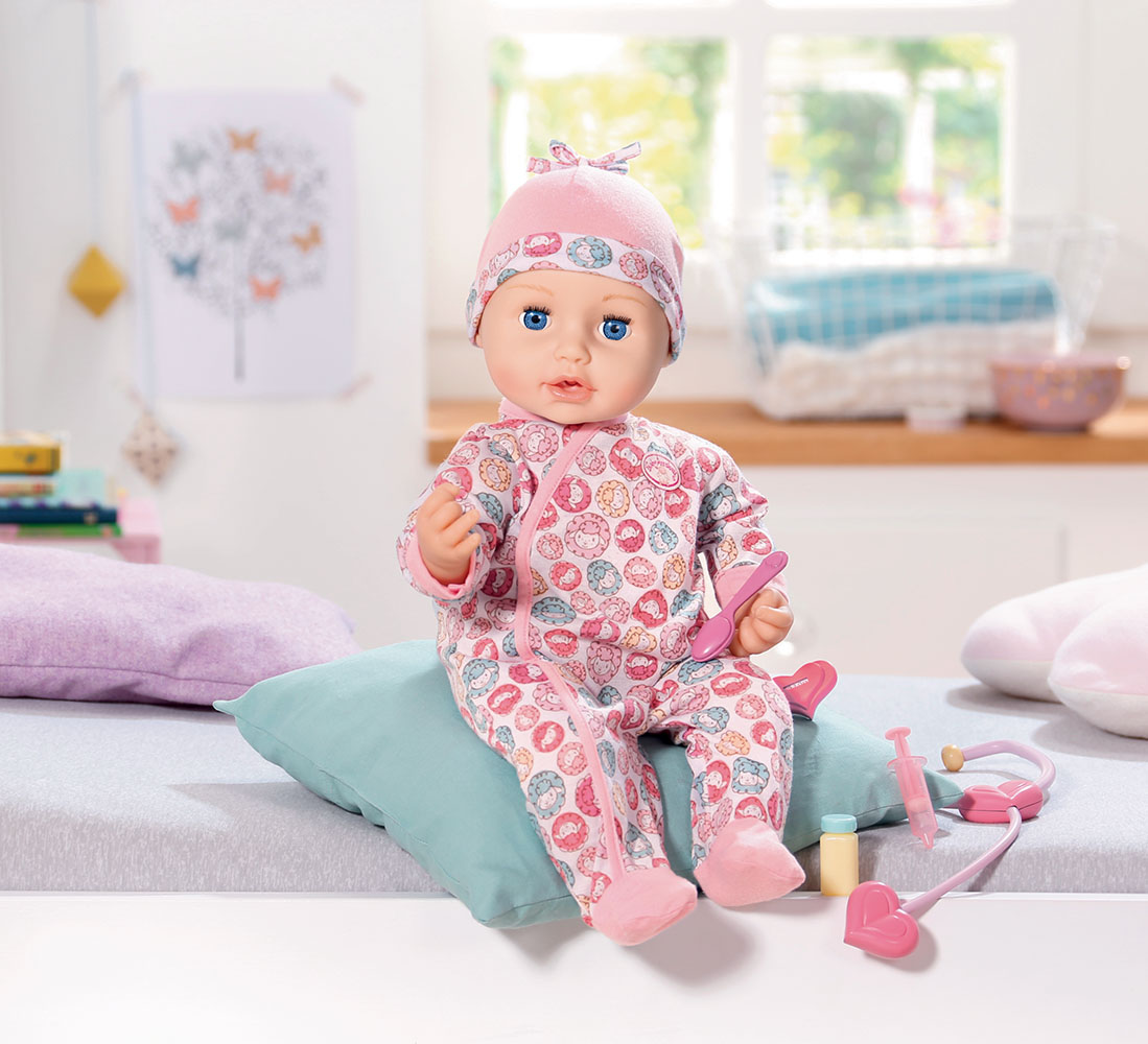 Baby Annabell - Poupée Milly feels better 43 cm