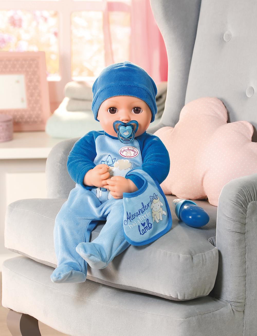 Baby Annabell - Poupée interactive Alexander 43 cm