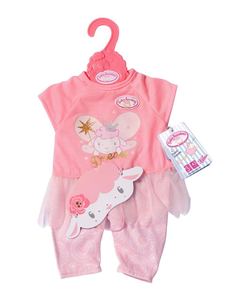 Baby Annabell - Vêtements de détente Sweet Dreams Fairy 43 cm
