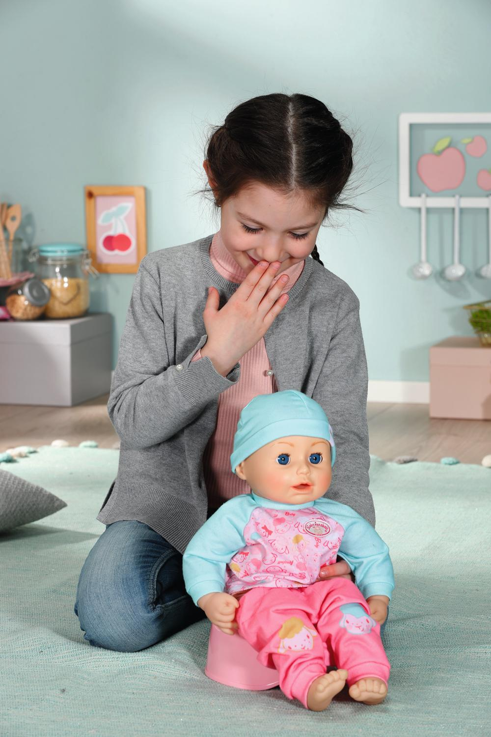 Baby Annabell - Poupée interactive Lunch Time 43 cm