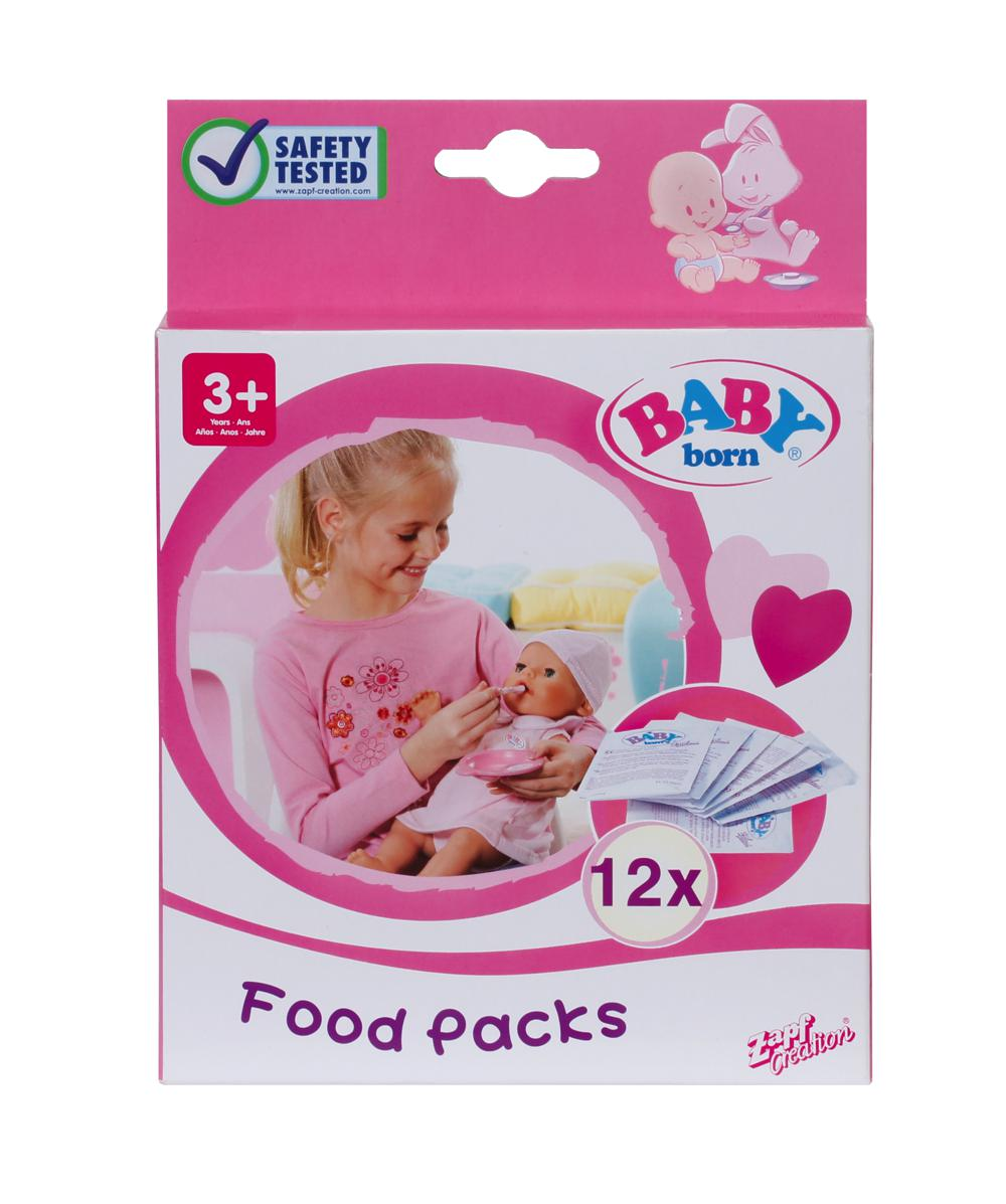 Baby Born - Sachets de nourriture 12 pièces