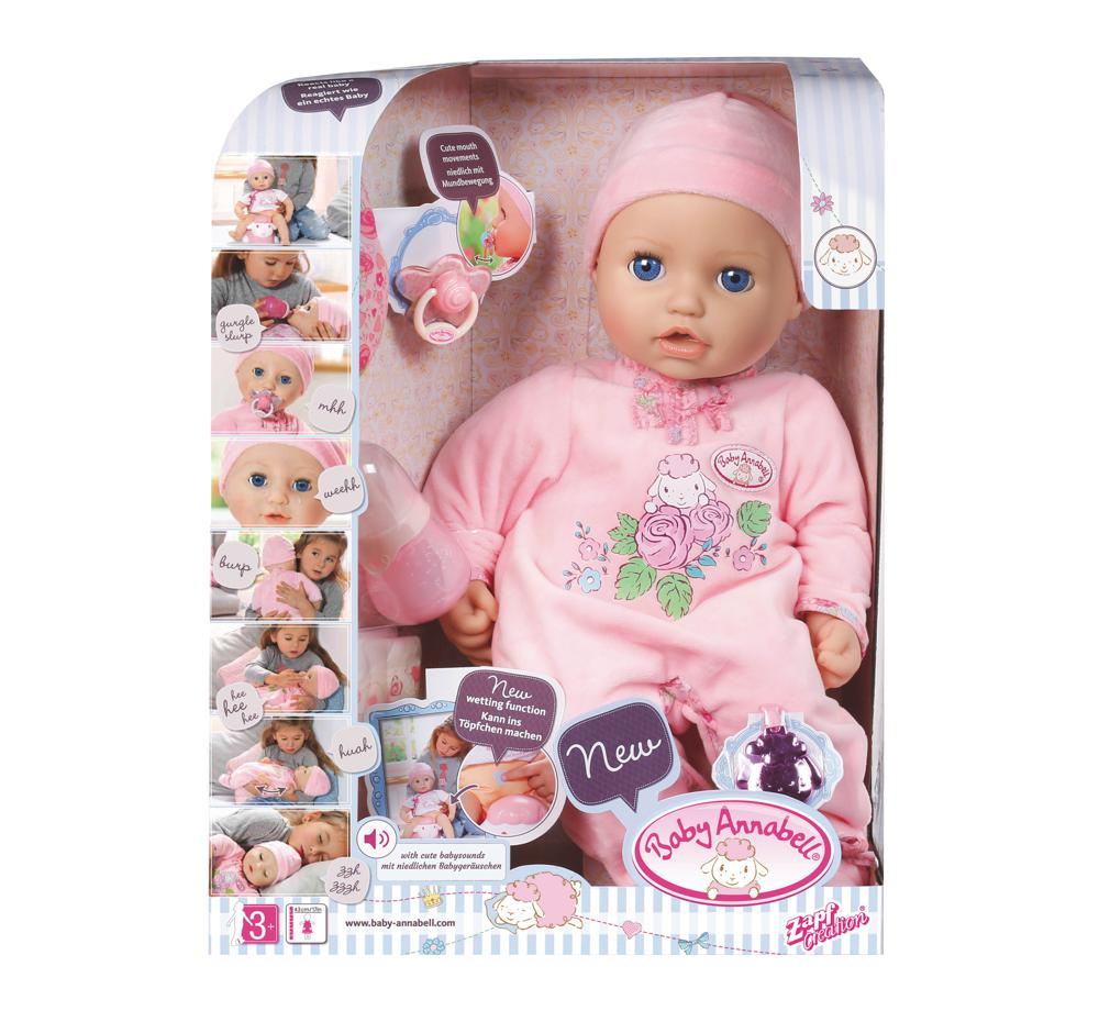 Baby Annabell Poup 233 E Interactive 43 Cm Club Jouet Achat