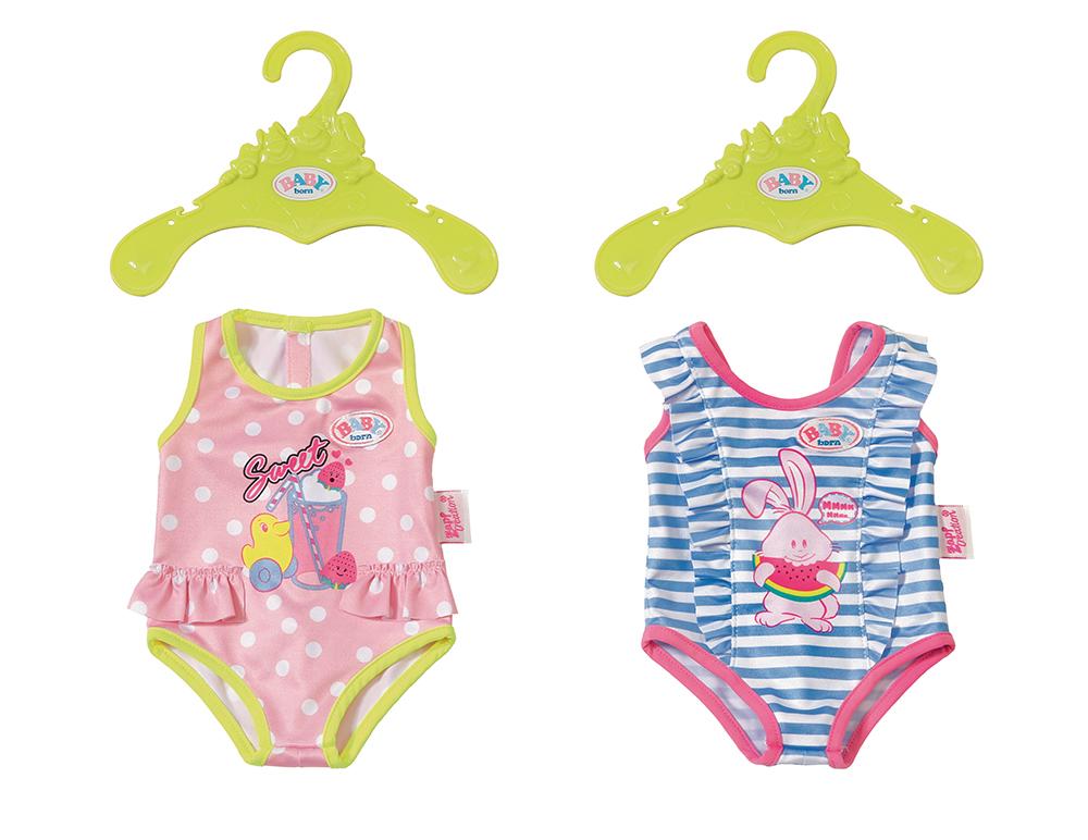 BABY born - Maillot de bain assortis 2 modèles