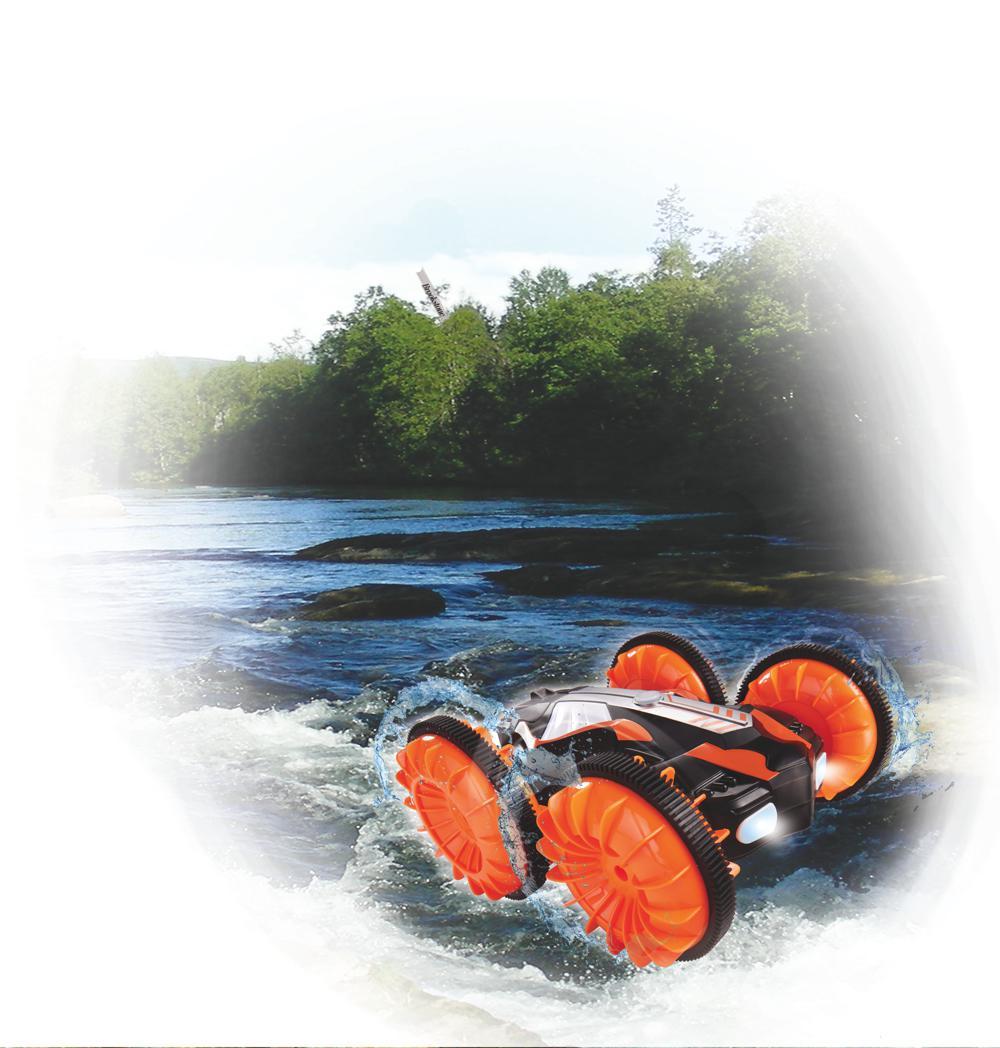 Dickie - Amphibious Flippy Sable et eau téléguidé 22 cm 1:18