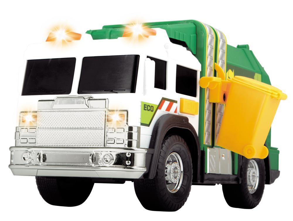 Action Series - Camion de recyclage Sons et lumières 30 cm