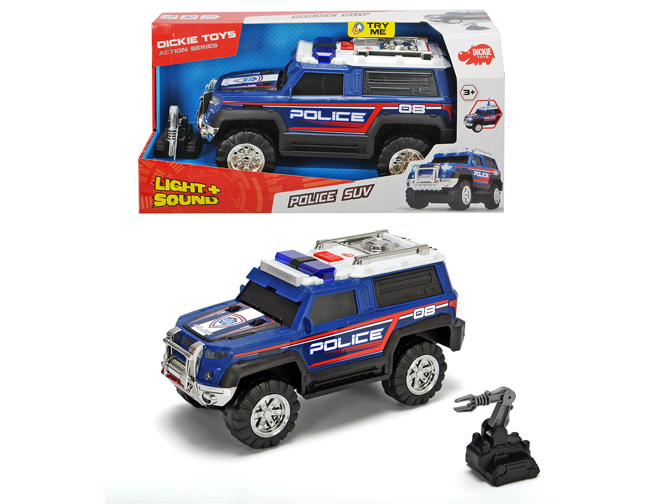 Action series Police SUV 30 cm